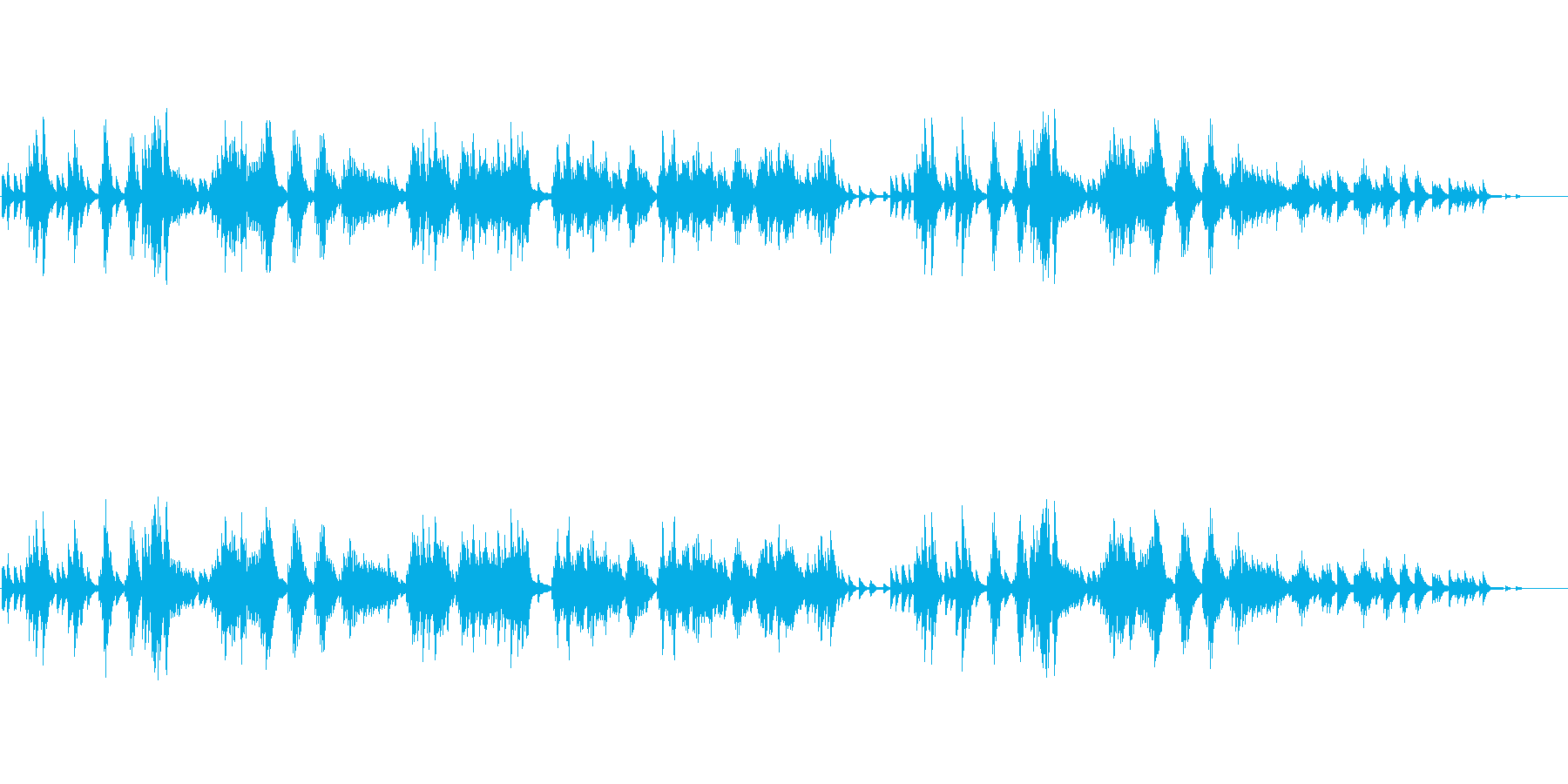 [秋] チャイコフスキー/オータムソングの再生済みの波形