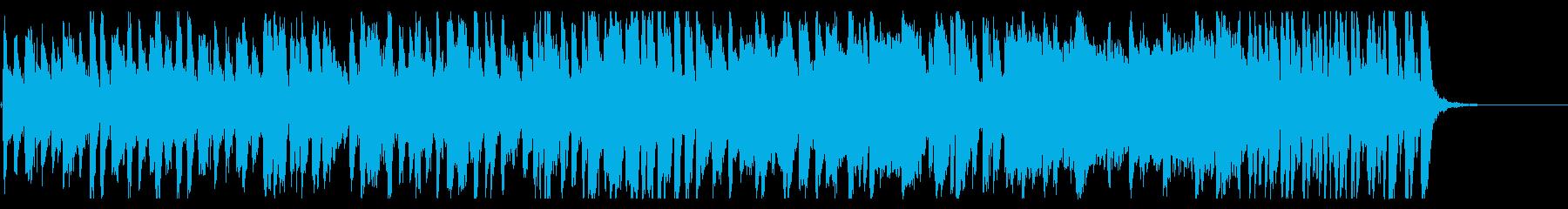 情熱的な旋律のジングルの再生済みの波形