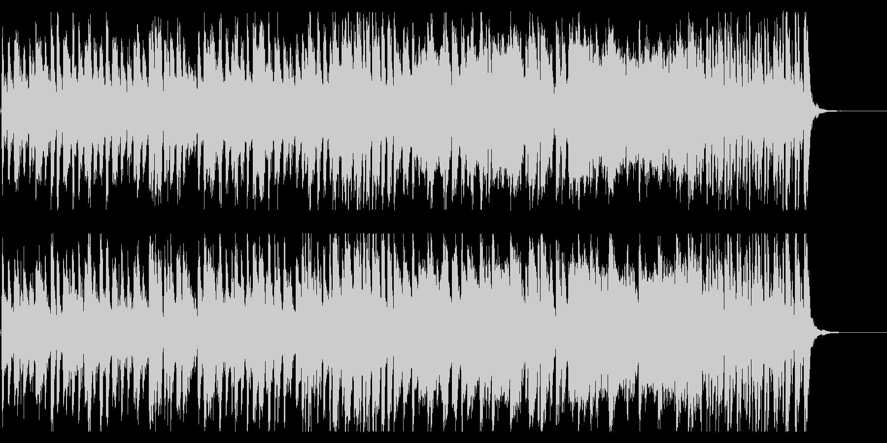 情熱的な旋律のジングルの未再生の波形