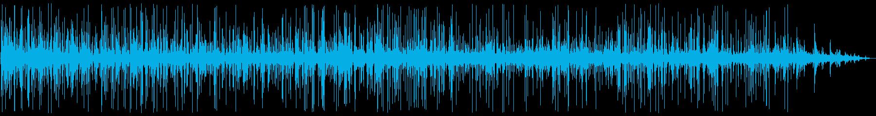 ジュジュジュ・・・(ステーキを焼く音)の再生済みの波形