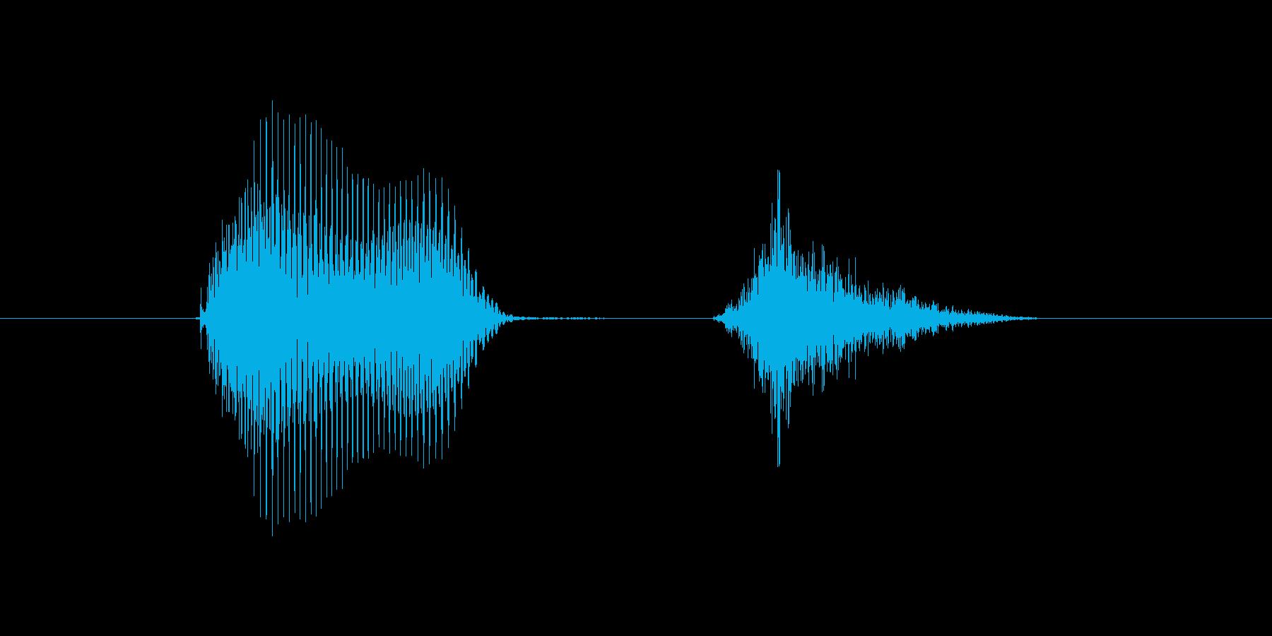 h,H.H(エイチ)の再生済みの波形