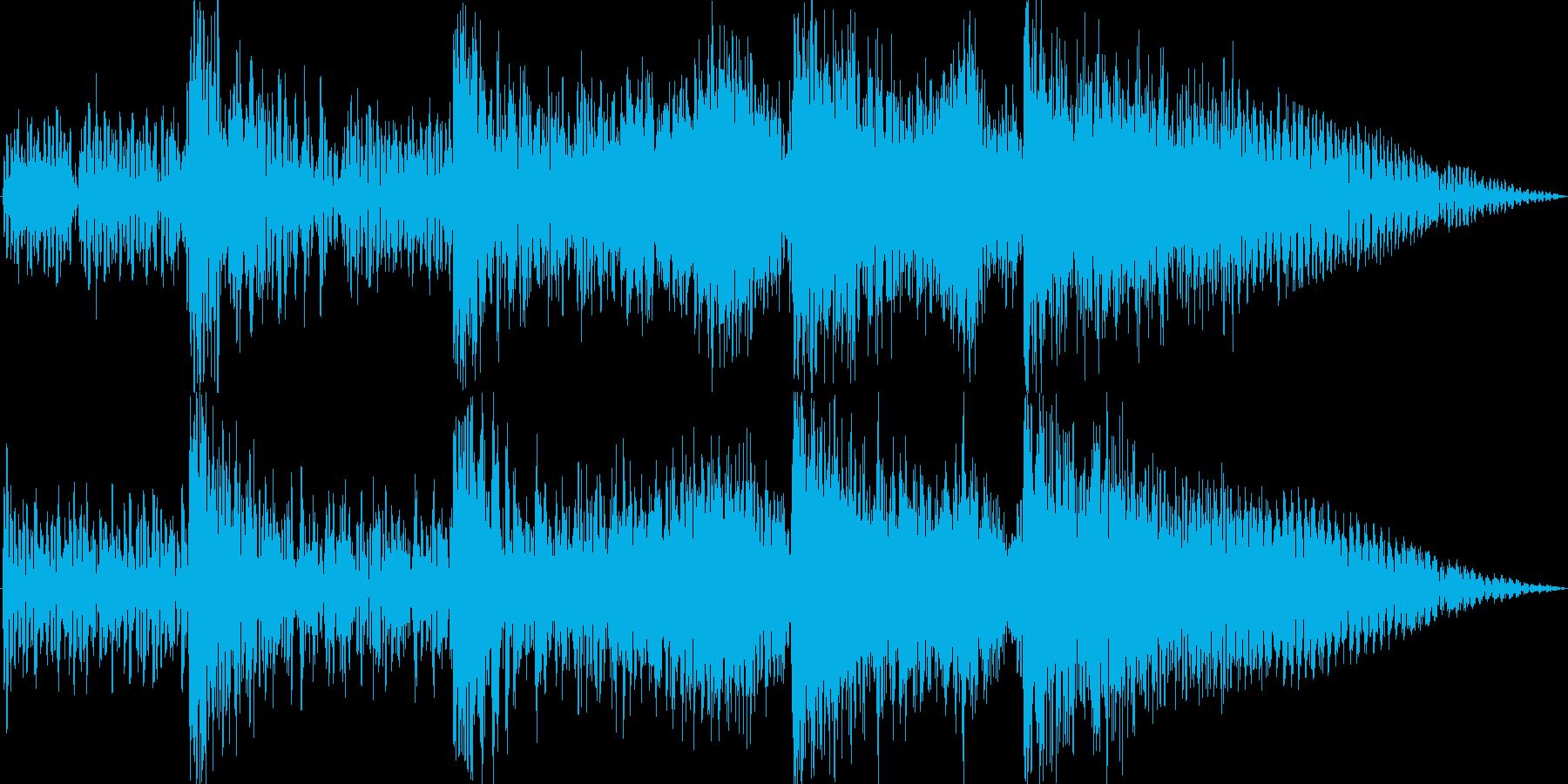 サイファイのダークでSF的な衝撃音3の再生済みの波形