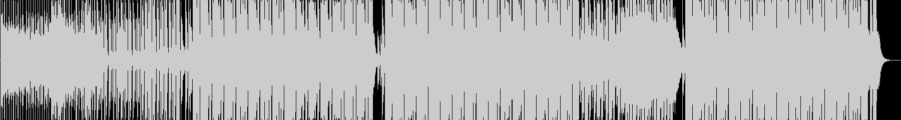 都会的でカッコいいエレクトロダンス曲の未再生の波形