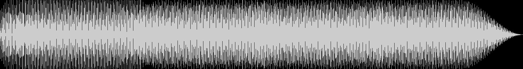かわいい/ポップ/軽快なBGMの未再生の波形
