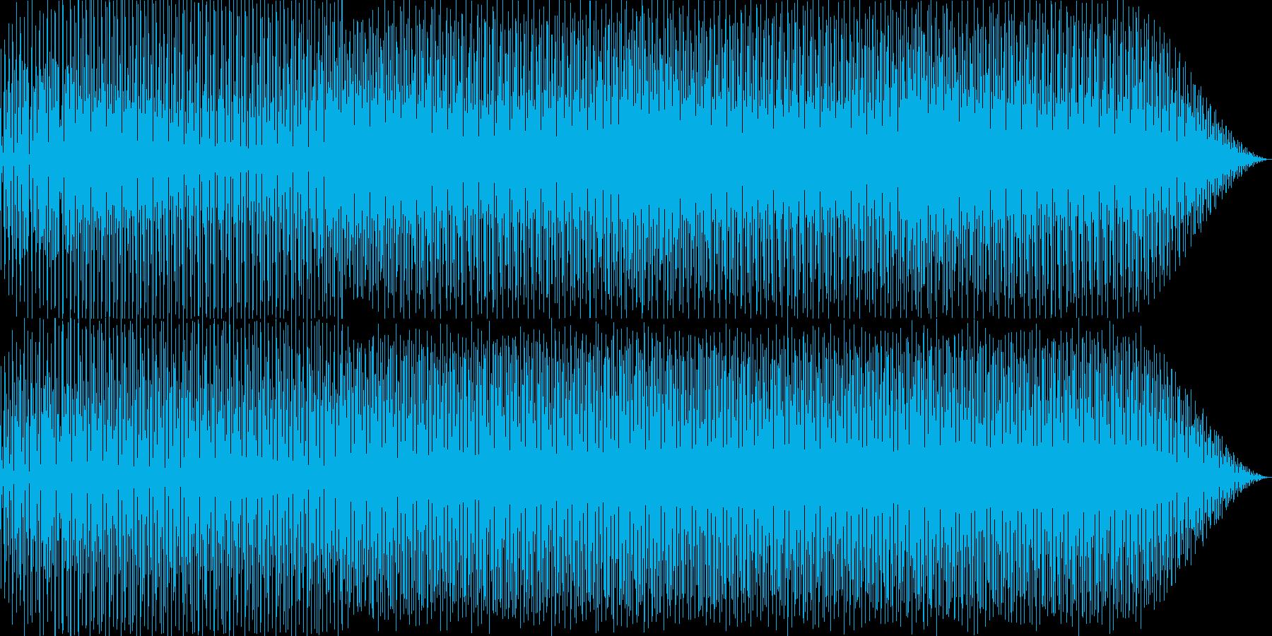 かわいい/ポップ/軽快なBGMの再生済みの波形