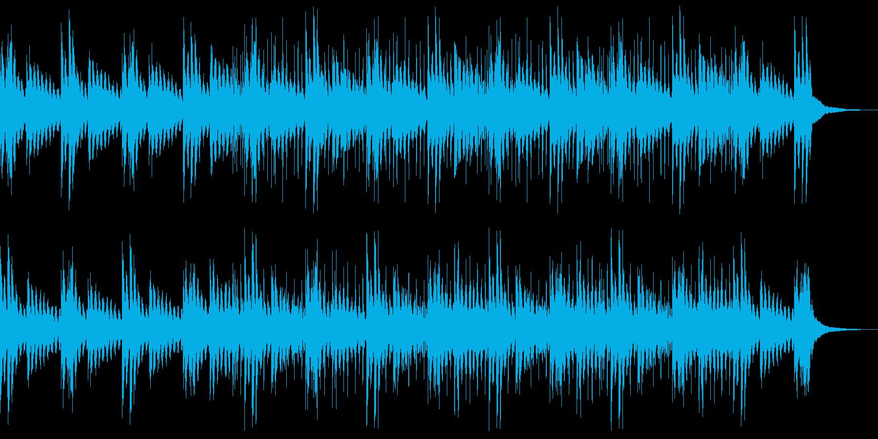 BGM 約1分 散策中 エレピの再生済みの波形