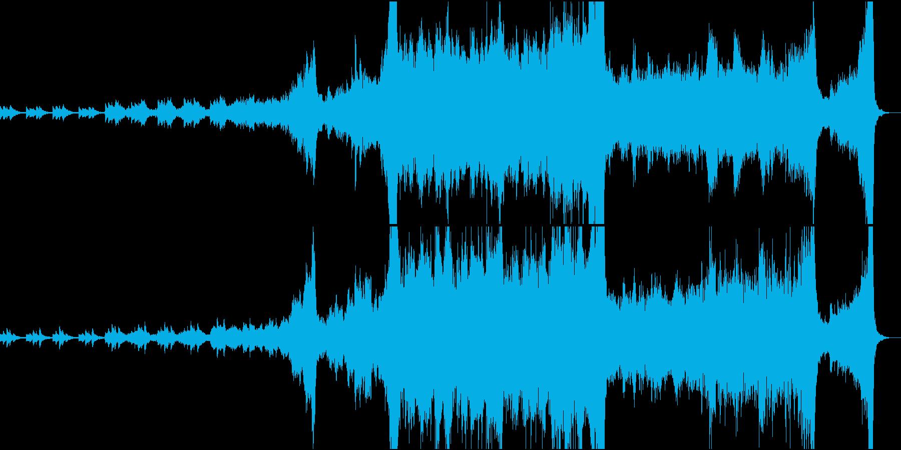RPGのオープニング向けオーケストラの再生済みの波形