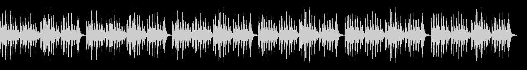 ベビーオルゴール 5 Monkeys×6の未再生の波形