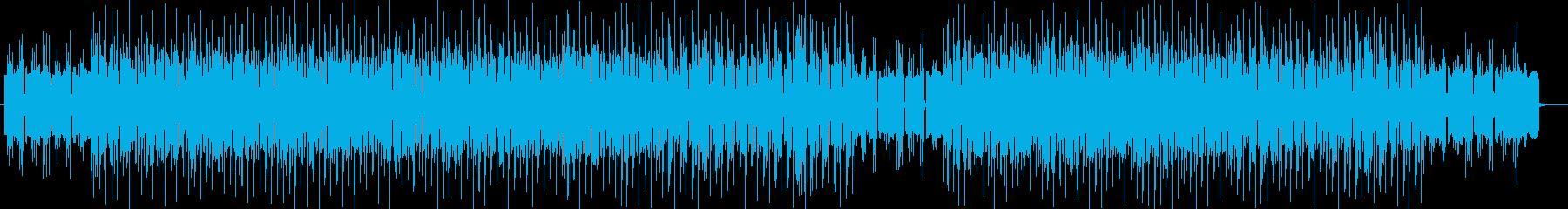 ベルの音がキラキラ綺麗な楽曲の再生済みの波形