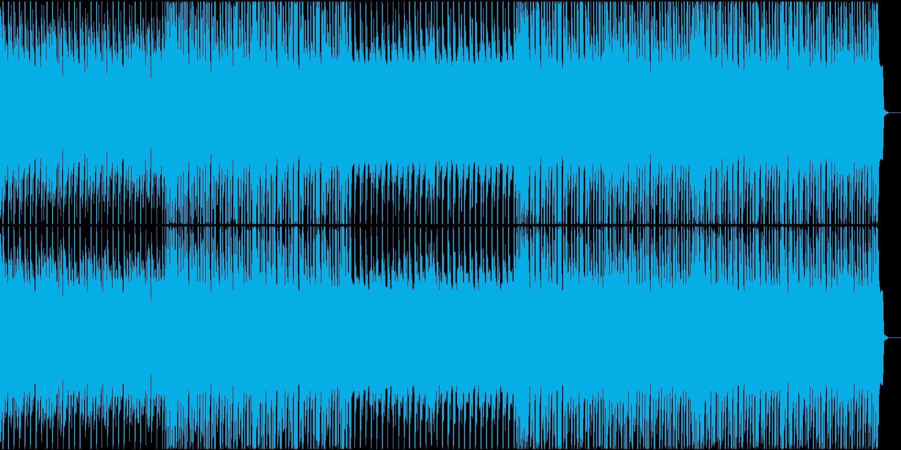 オールドな雰囲気のテクノ・ユーロビートの再生済みの波形