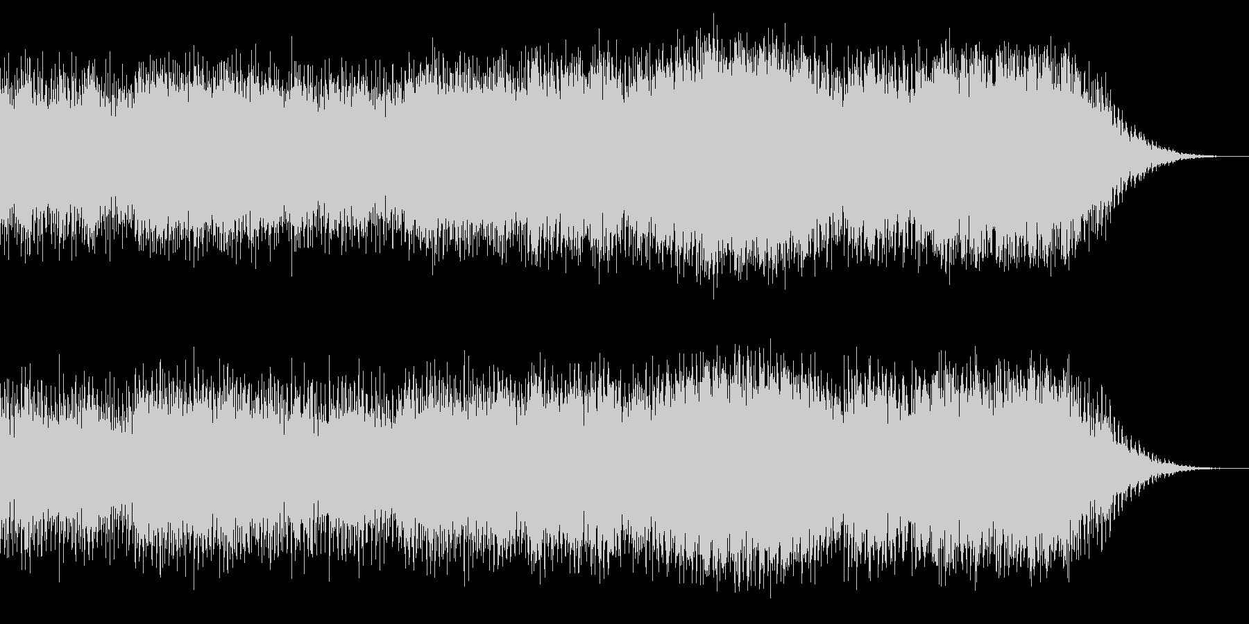 定番なハウス系EDMの未再生の波形