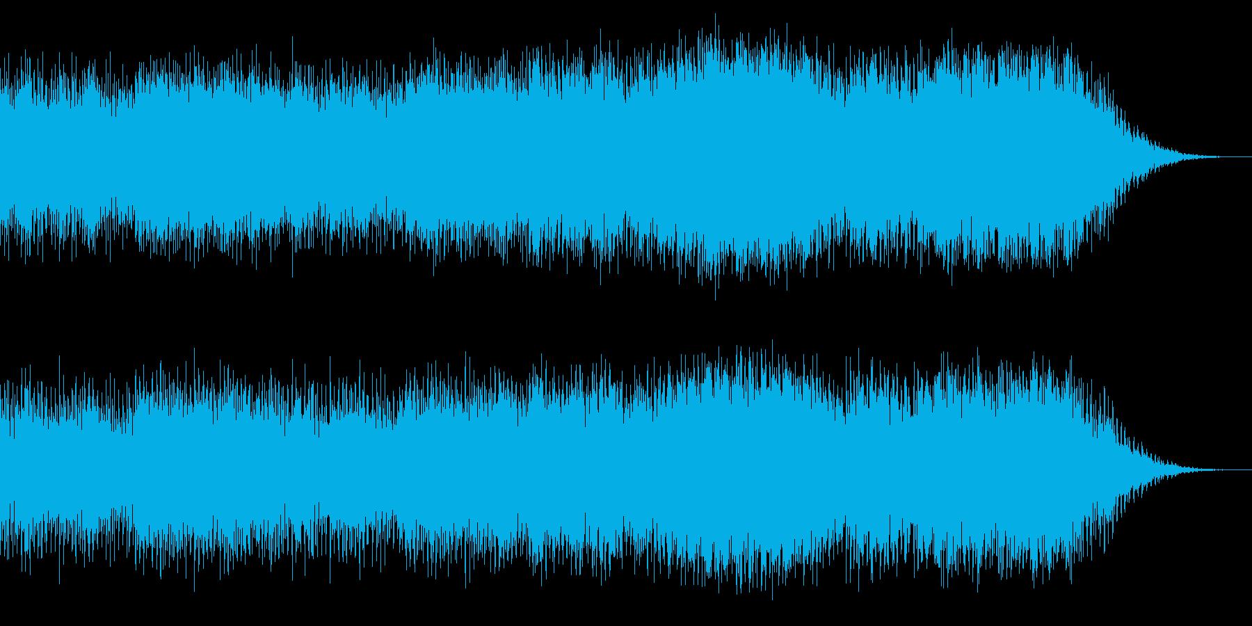 定番なハウス系EDMの再生済みの波形