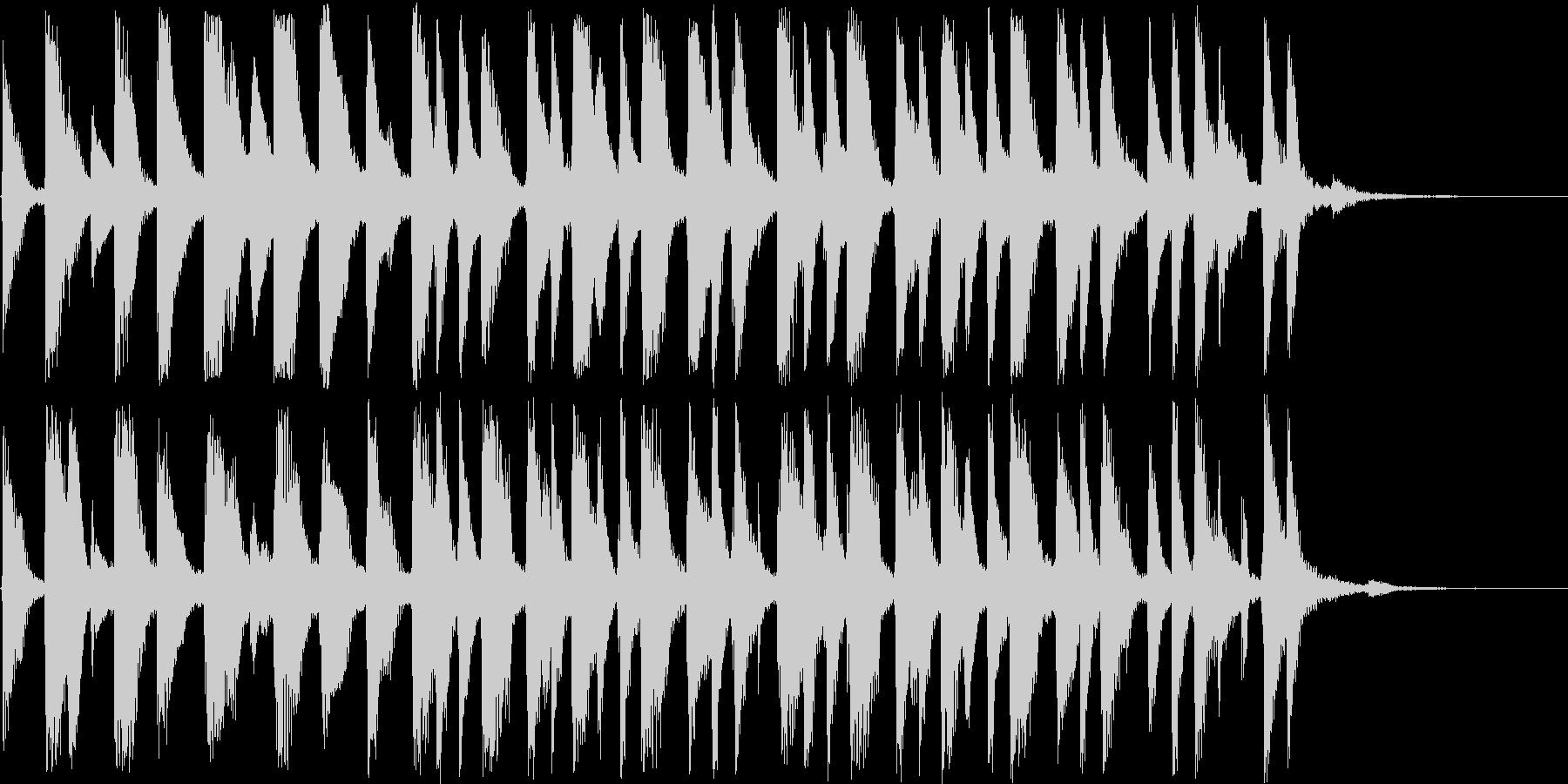 15秒のラテンピアノ。ジングル、CMに!の未再生の波形