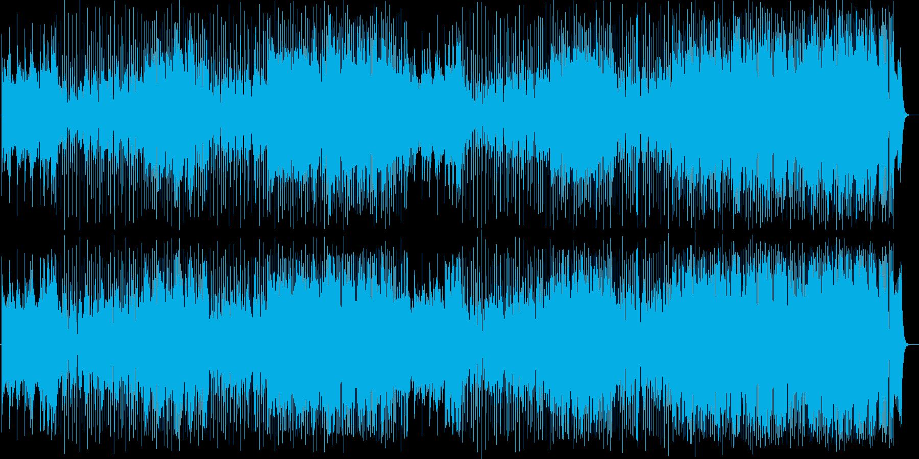 サックス入りのお洒落なフュージョンの再生済みの波形