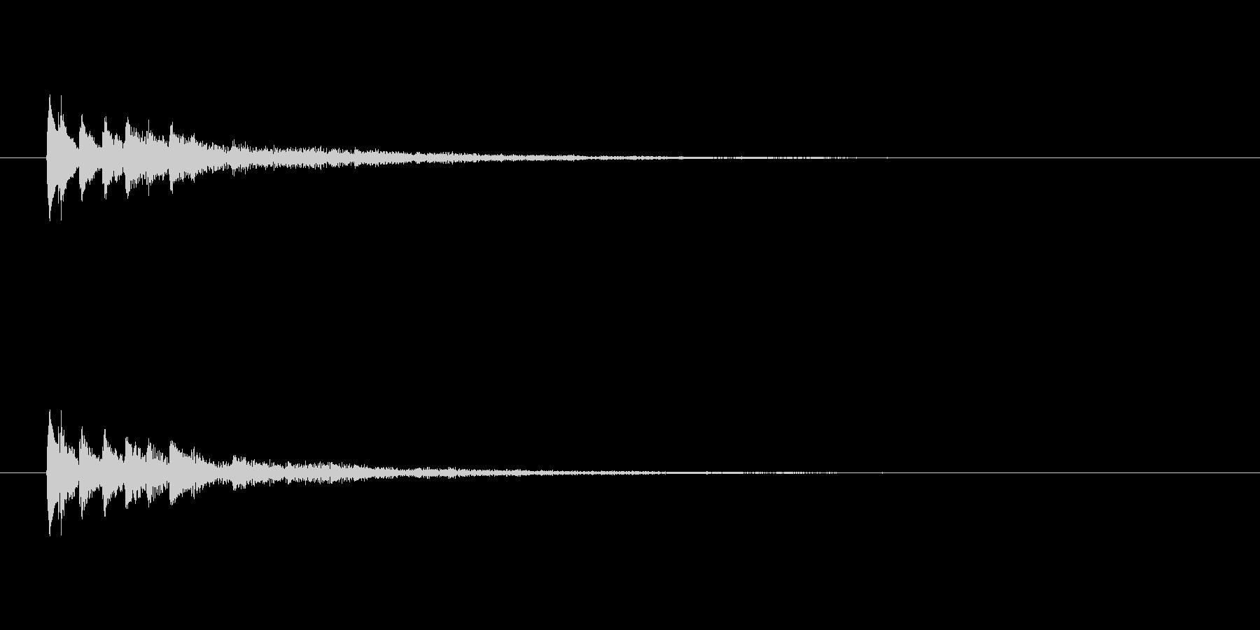 【ショートブリッジ14-1】の未再生の波形