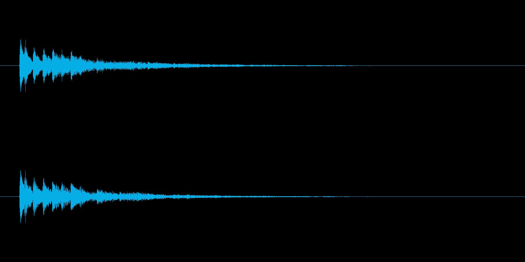 【ショートブリッジ14-1】の再生済みの波形
