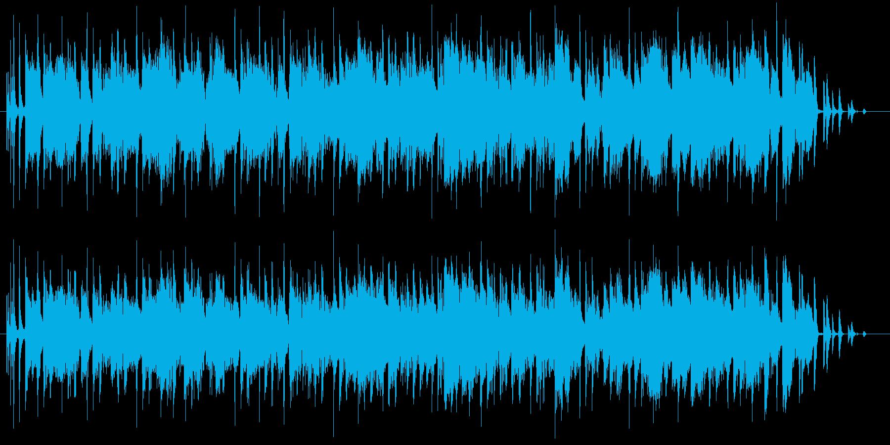 ラテン調のリズムにアダルトな風合いを乗…の再生済みの波形