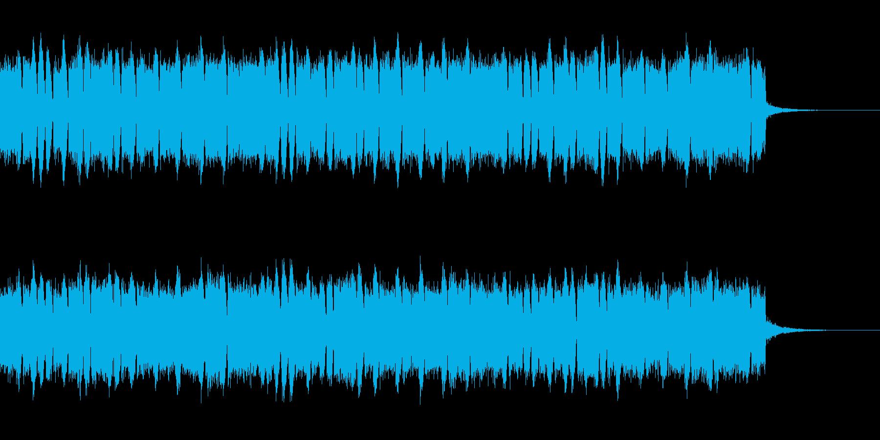 ロックペーストのBGMの再生済みの波形