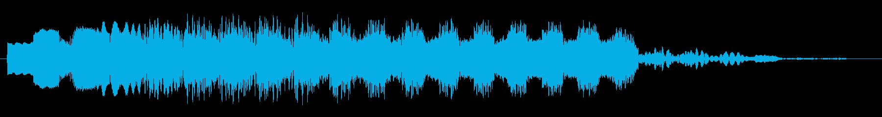 ピュロロロ・・・(飛行や浮遊の効果音)の再生済みの波形