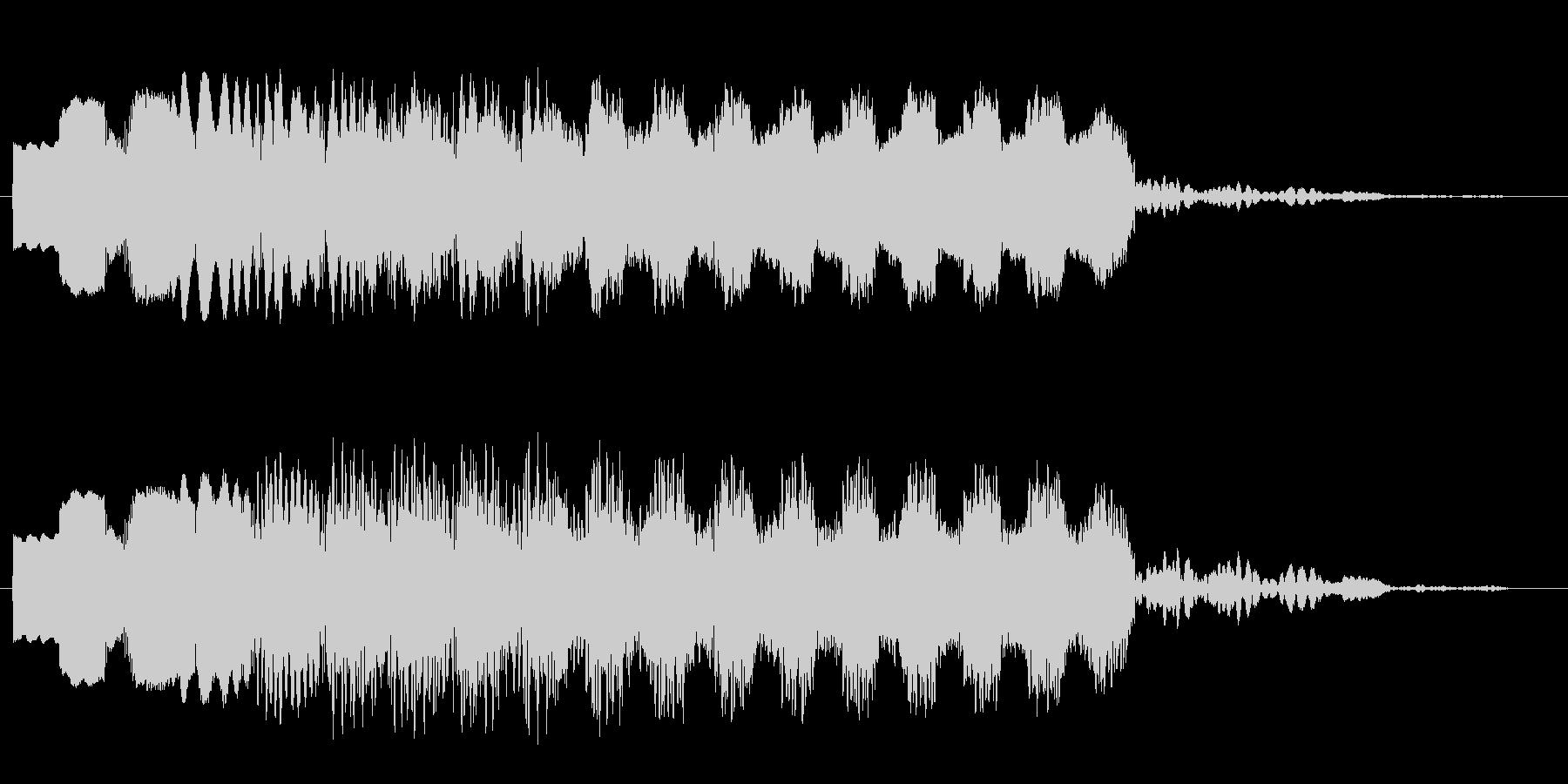 ピュロロロ・・・(飛行や浮遊の効果音)の未再生の波形
