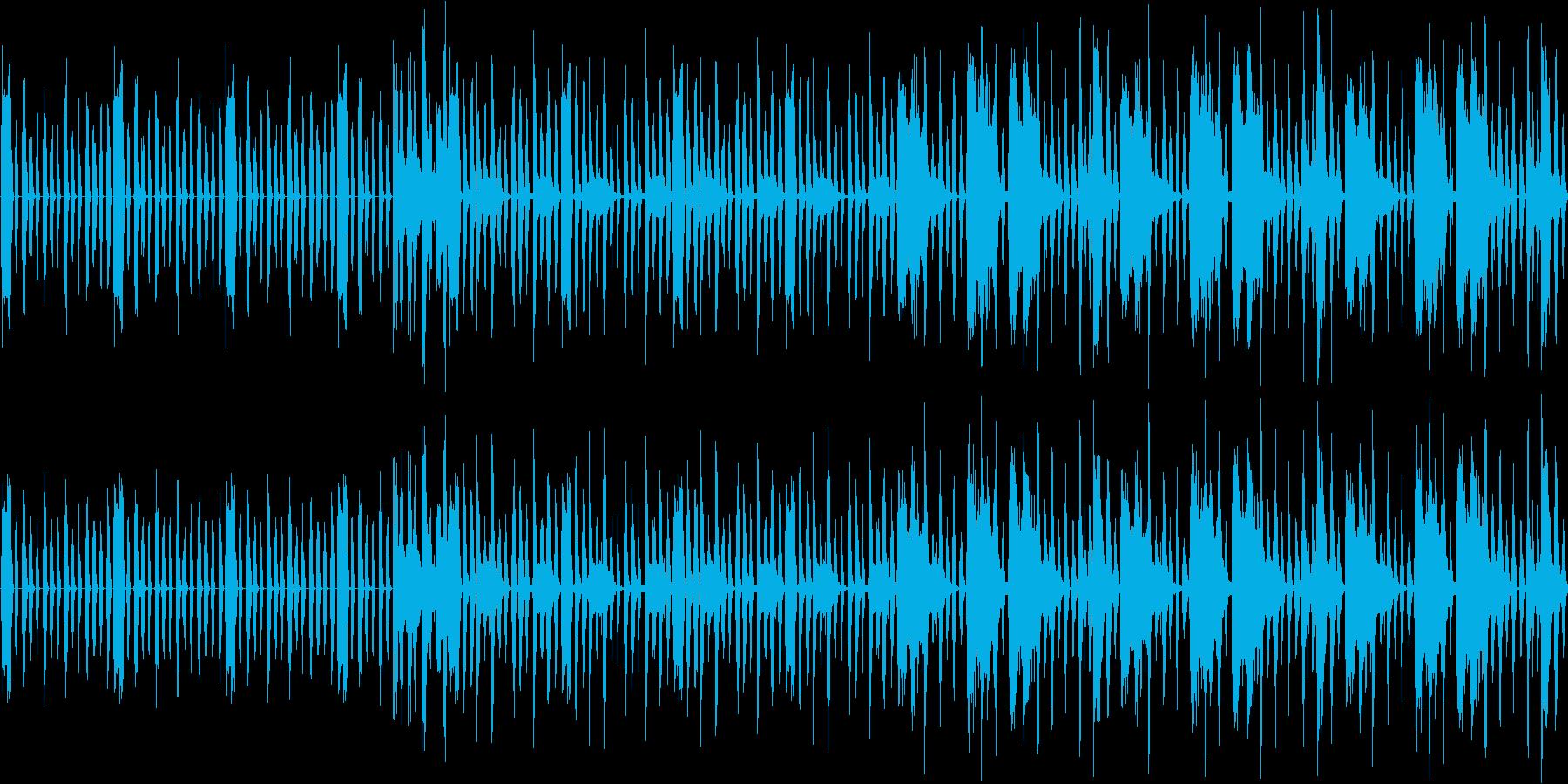 【近未来/サイバー/トランス】の再生済みの波形