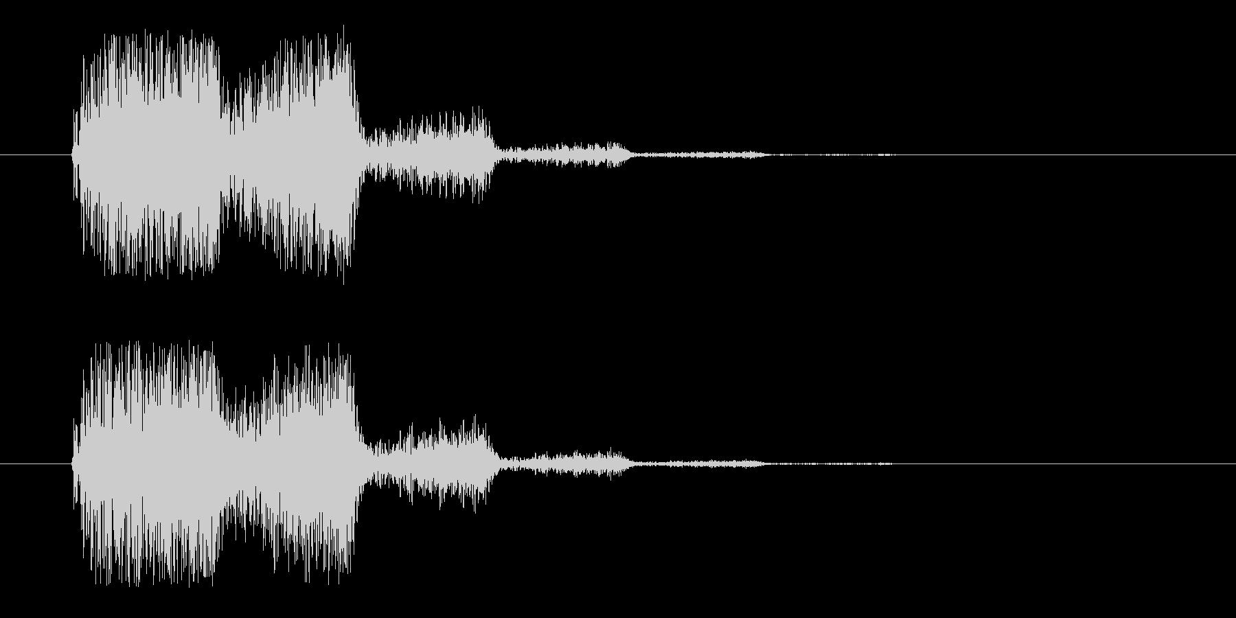 分身_消滅(m0285)の未再生の波形