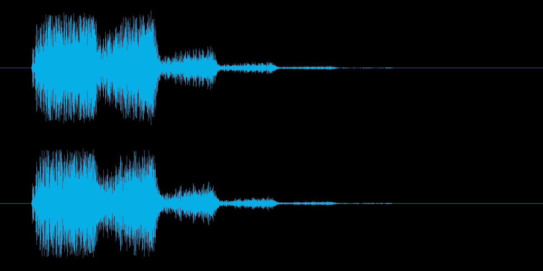 分身_消滅(m0285)の再生済みの波形