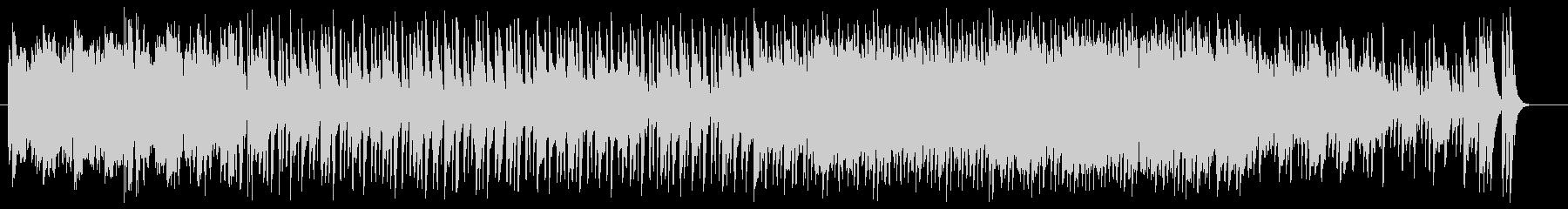 シンセサイザーによるボサノバの未再生の波形