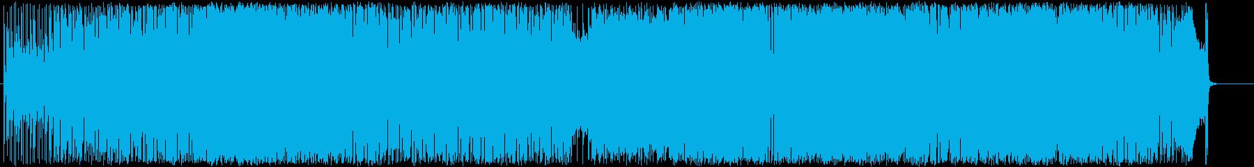 ロックフュージョン風ギターインストです。の再生済みの波形