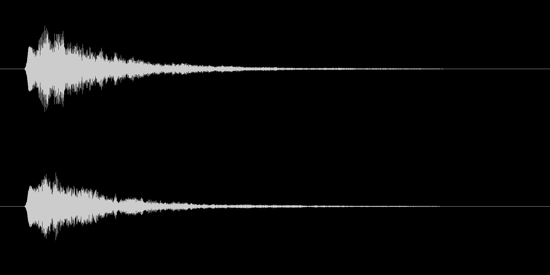 フファン(起動、RPG、ボタン音)の未再生の波形