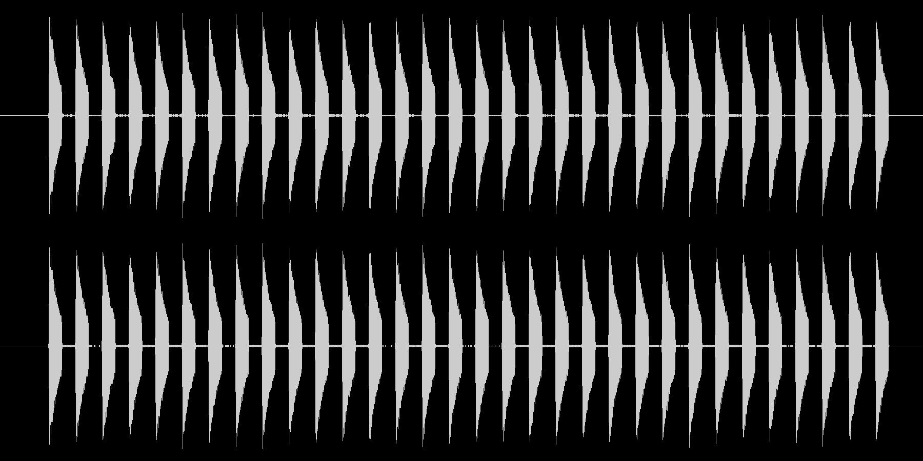 NES アクション01-16(スコア)の未再生の波形