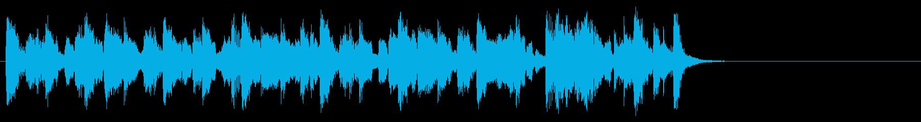 コミカルなほのぼのポップ(サビ)の再生済みの波形