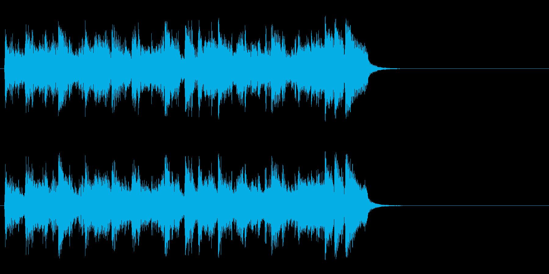 海を思う爽快フュージョン(イントロ)の再生済みの波形