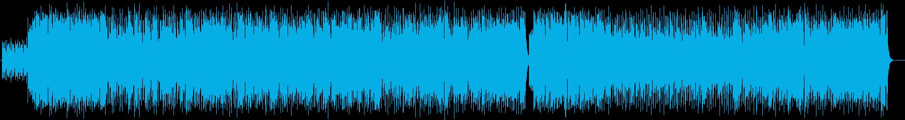 明るく爽やかなピアノ管楽器サウンドの再生済みの波形