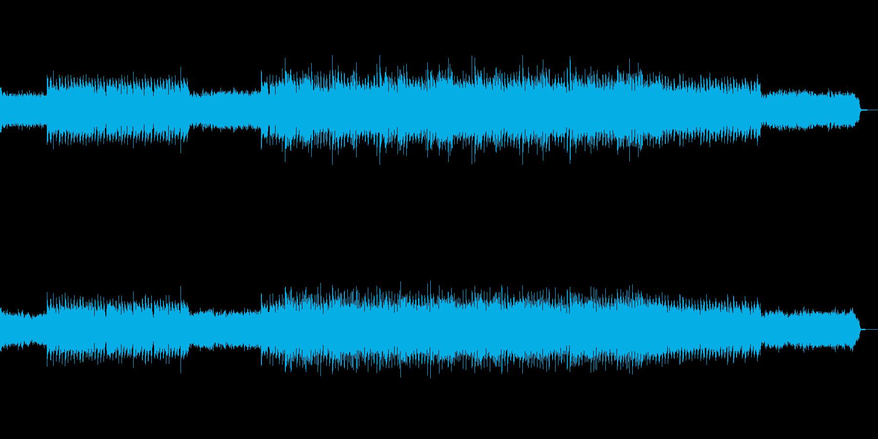 企業向け壮大なイメージのピアノトラックの再生済みの波形