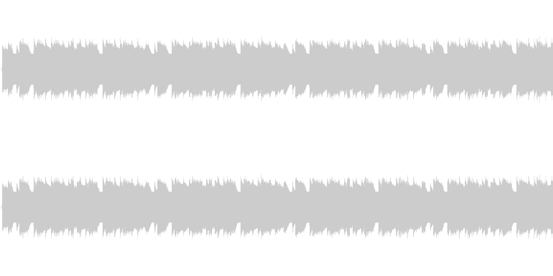 チップチューンの軽快な短いループ2の未再生の波形