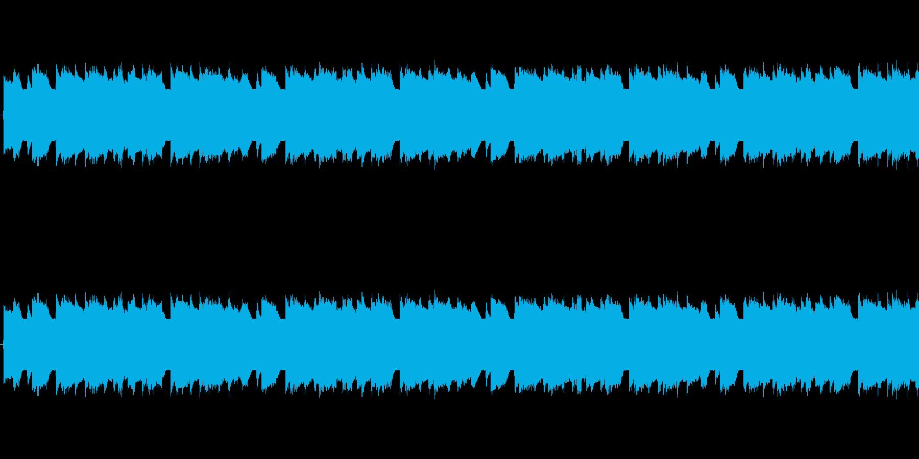 チップチューンの軽快な短いループ2の再生済みの波形