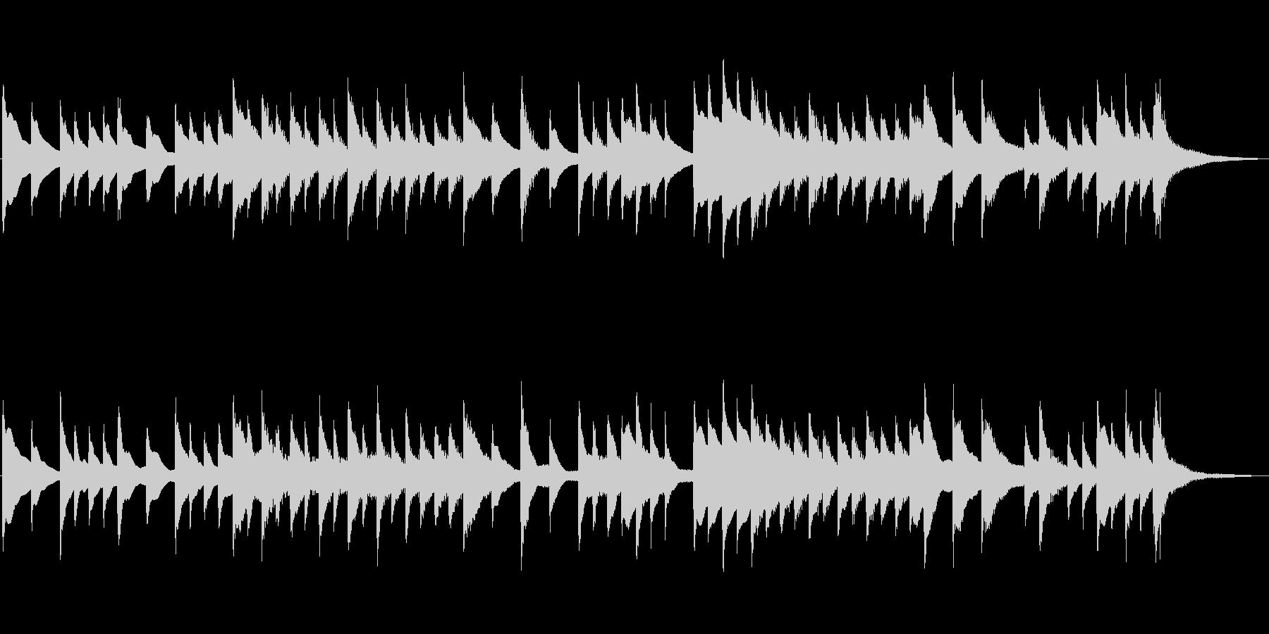 桜の曲オマージュ作品 琴の未再生の波形