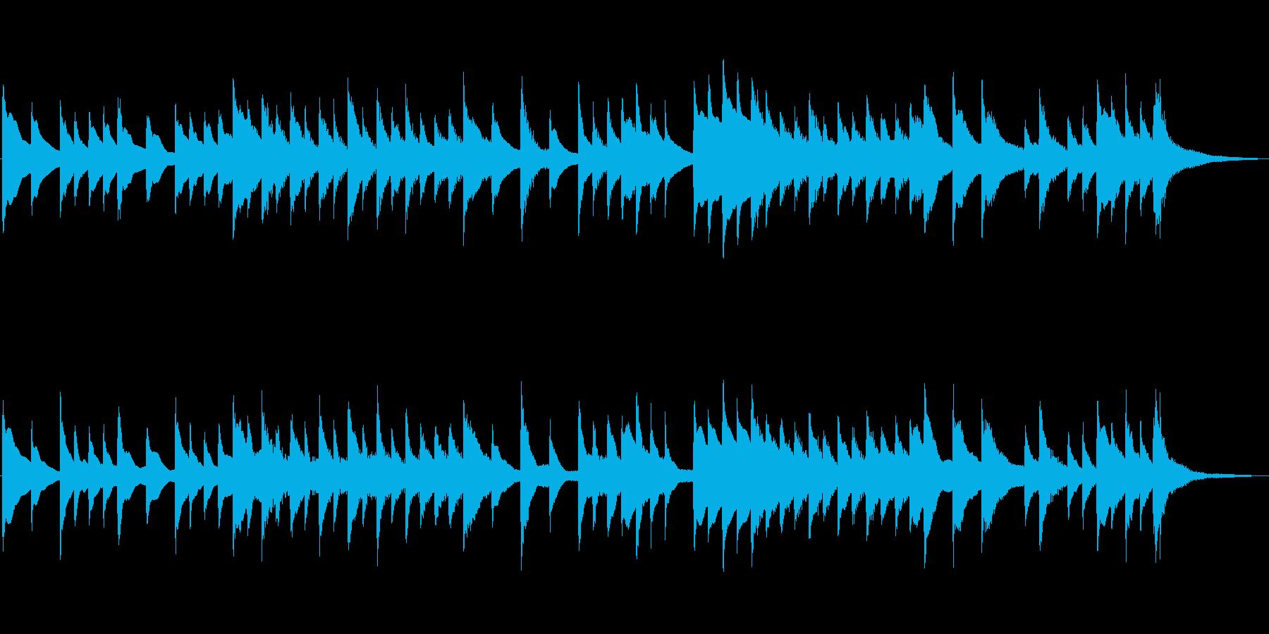 桜の曲オマージュ作品 琴の再生済みの波形
