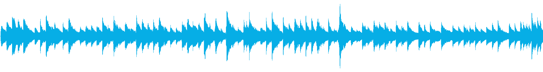 和風 日常BGM(ゆったりめ)の再生済みの波形