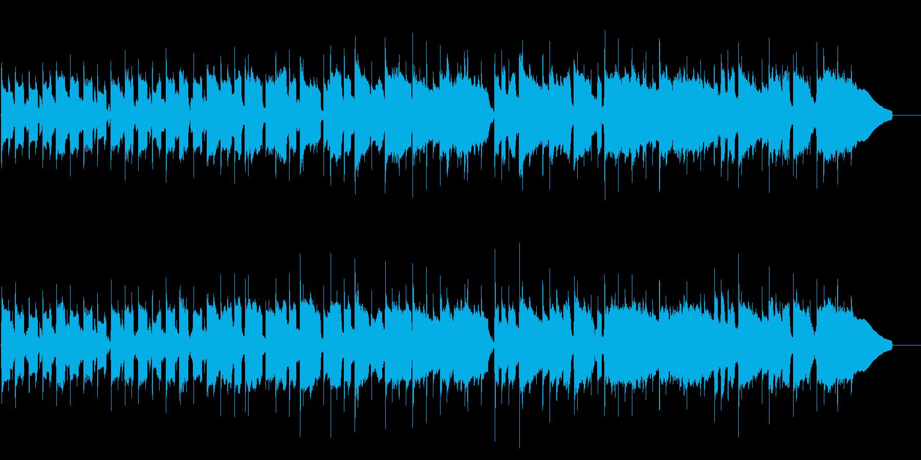 1分の可愛らしい、優しいほのぼのBGM…の再生済みの波形
