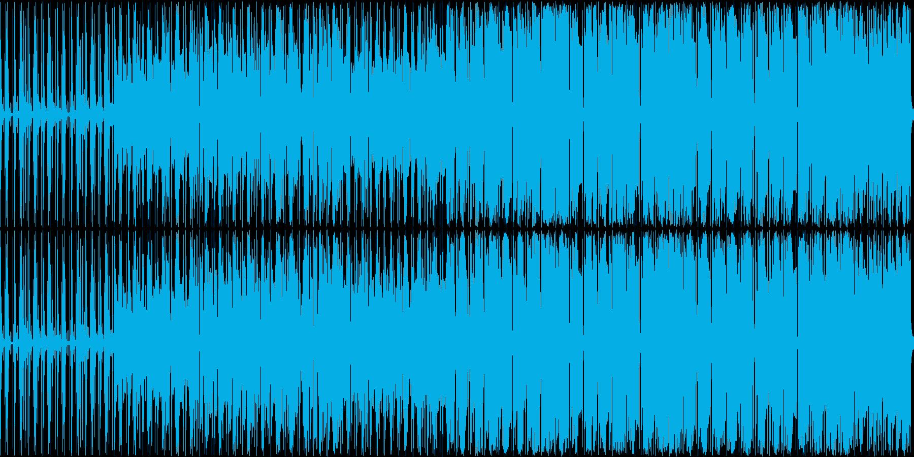 オルガンとドラムが主体の軽快な曲ですの再生済みの波形