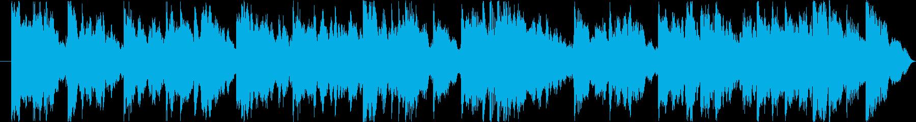 エレピソロ音源の再生済みの波形