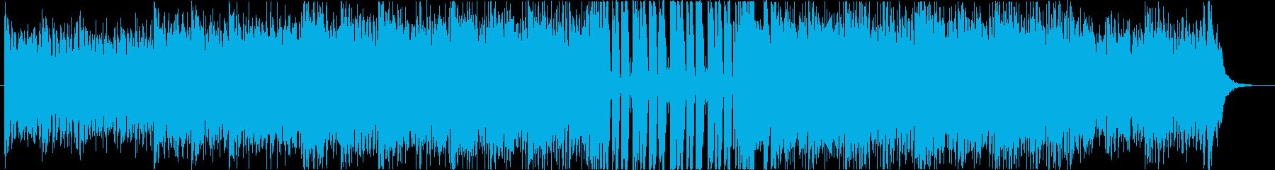 爽やかなサーフ系ギターロック・ポップスの再生済みの波形