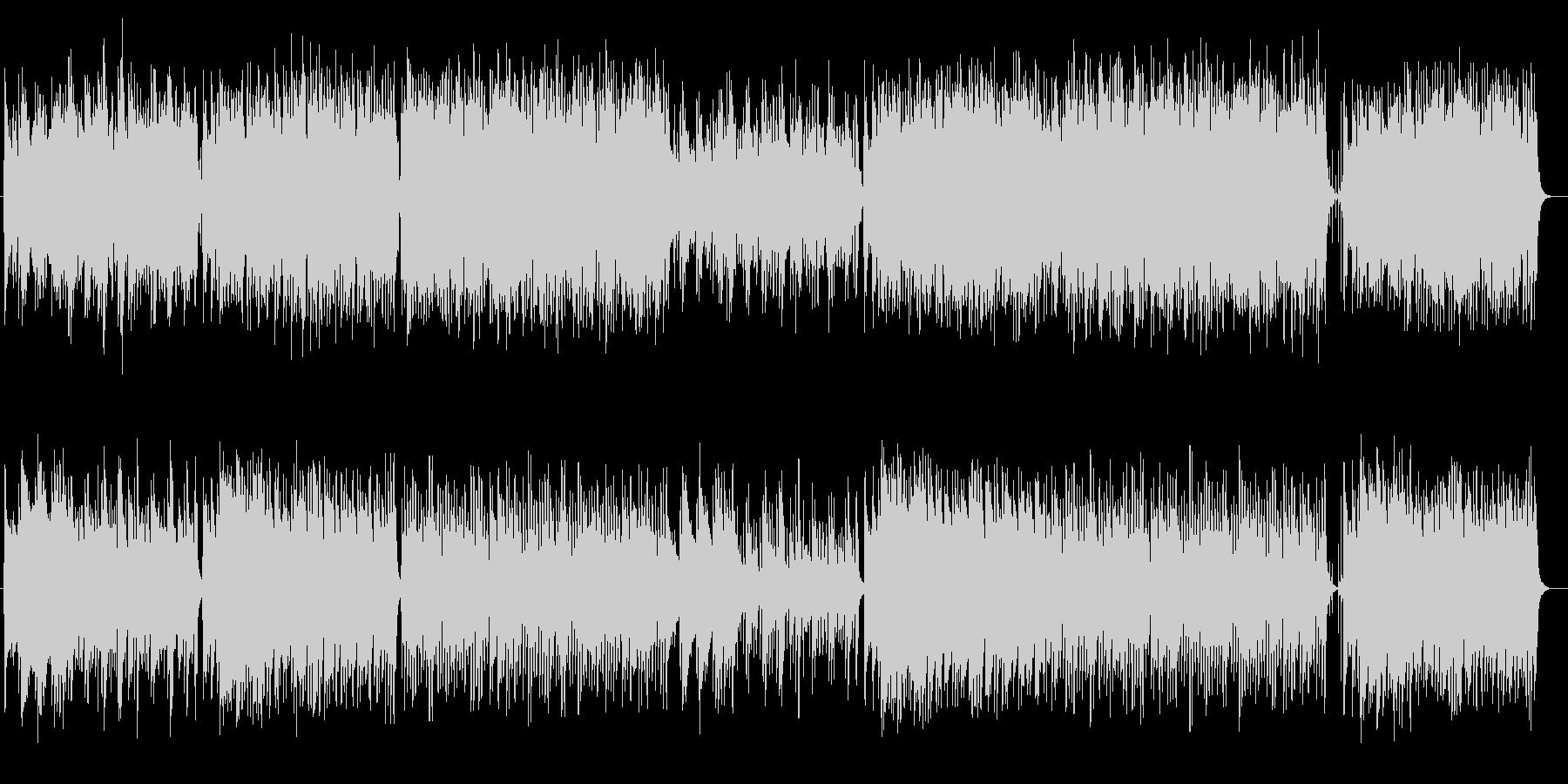 ゆったりほのぼのとしたリラクゼーション曲の未再生の波形