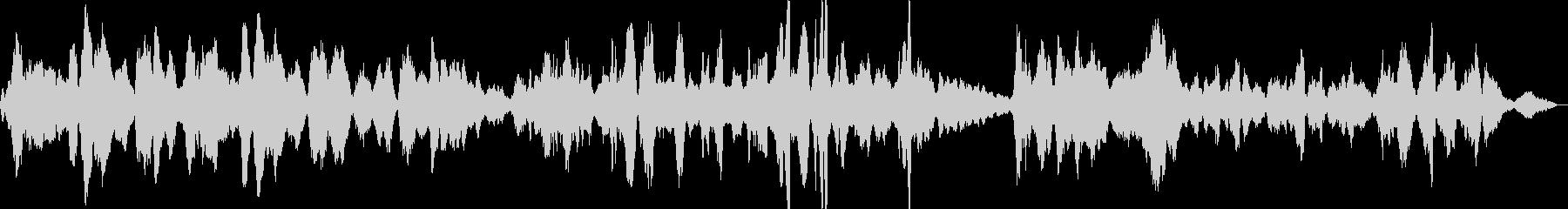 ノットゥルノ(夜奏曲)/ボロディンの未再生の波形