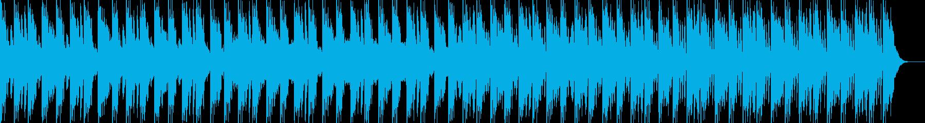 クレイジーな場面などの再生済みの波形