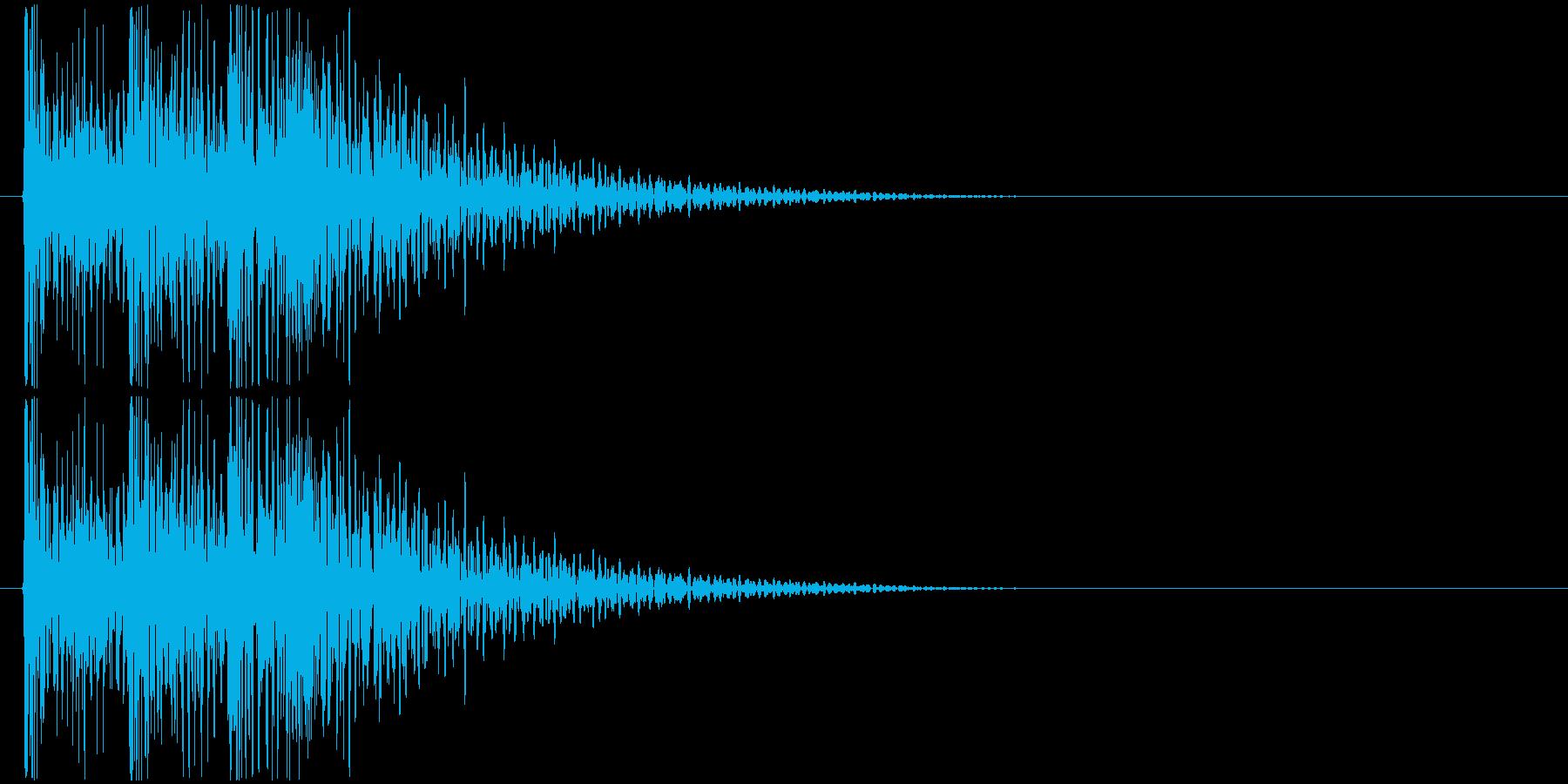 ドンドンドン! (扉をノック・3回)-Aの再生済みの波形