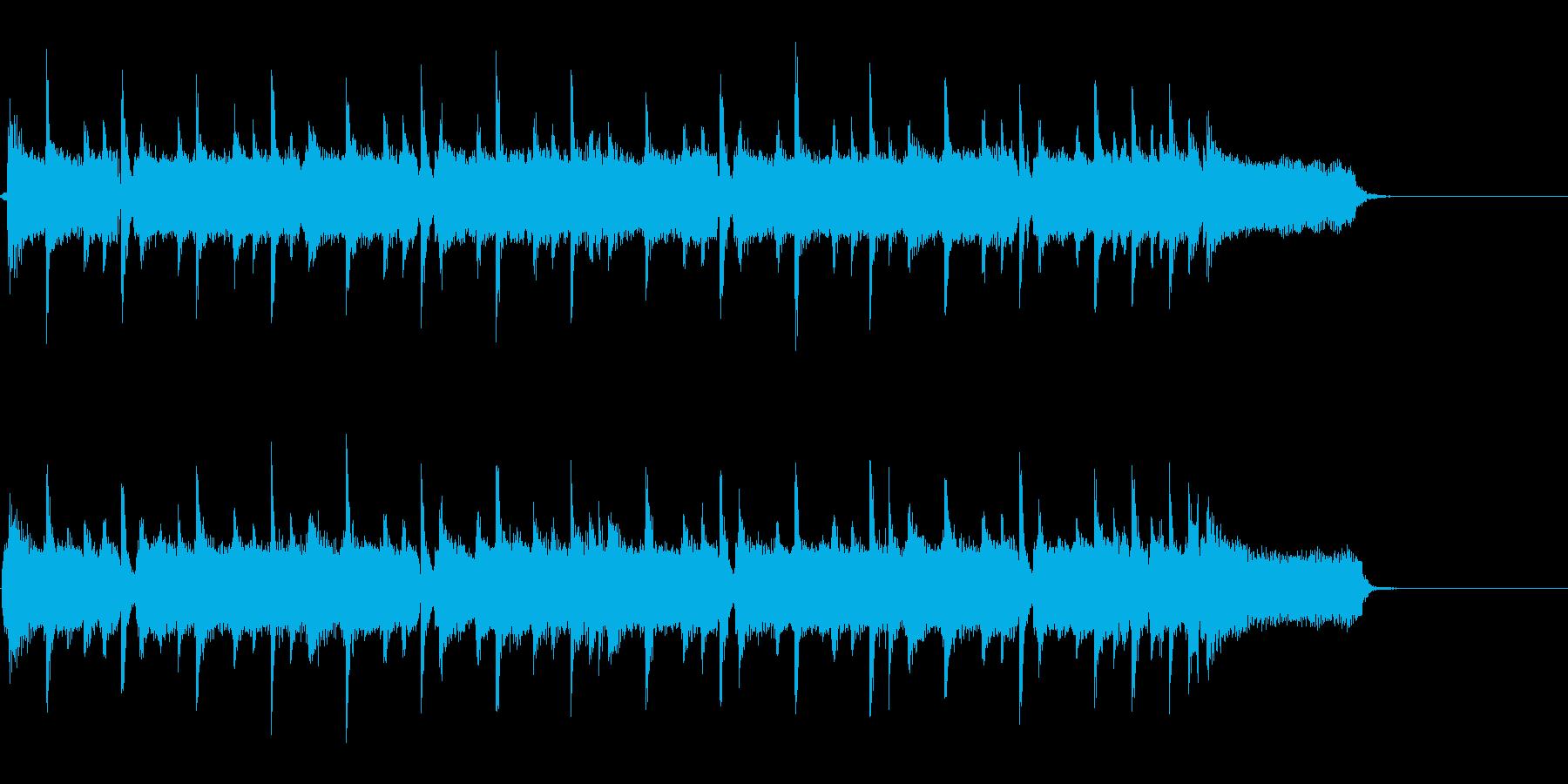 主張しすぎないロック系ジングル・キーBの再生済みの波形