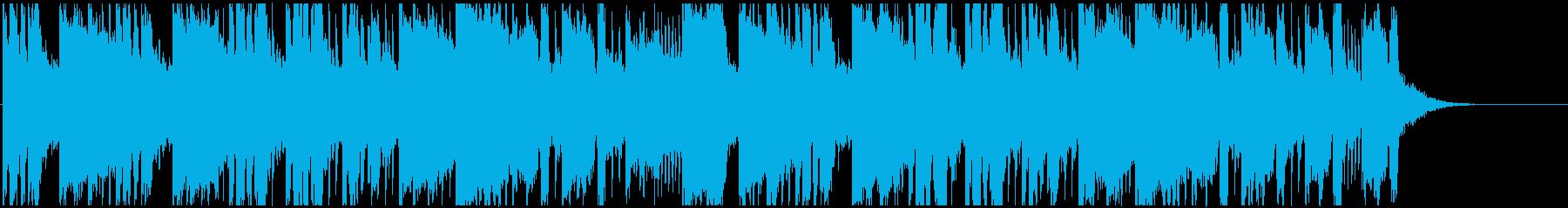 トランス系。おしゃれな音色&ベースの再生済みの波形
